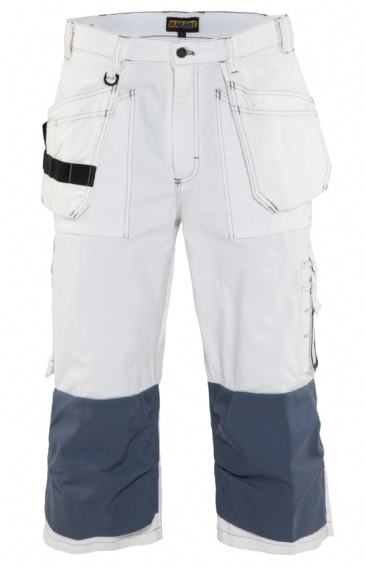 Blaklader 1540 Pirate Shorts 100% Cotton (White)